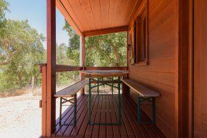 cabana madeira maroteira exterior