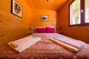 quarto cabana madeira